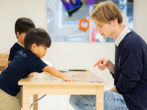 先生と子ども達のコミュニケーション